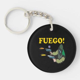 Fuego Keychain