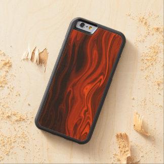 Fuego líquido funda de iPhone 6 bumper arce