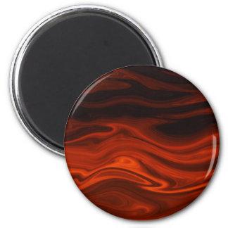 Fuego líquido de Shirley Taylor Imán Redondo 5 Cm
