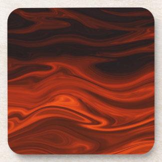 Fuego líquido de Shirley Taylor Posavasos