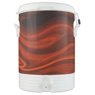 Fuego líquido de Shirley Taylor Refrigerador De Bebida Igloo