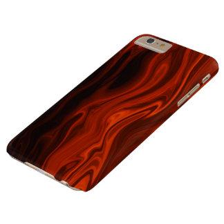 Fuego líquido funda de iPhone 6 plus barely there