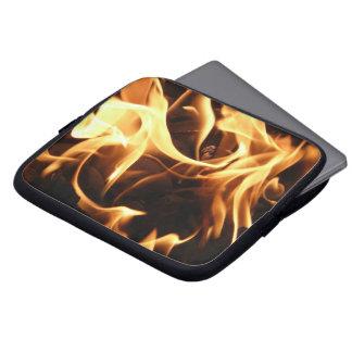 fuego, llama, barbacoa, carbón de leña, carbono, fundas computadoras