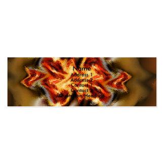 Fuego Mini Business Card