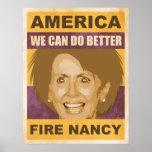 Fuego Nancy Pelosi Impresiones