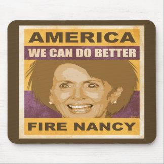 Fuego Nancy Pelosi Alfombrillas De Ratones