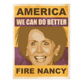 Fuego Nancy Pelosi Postales