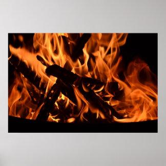 Fuego Póster