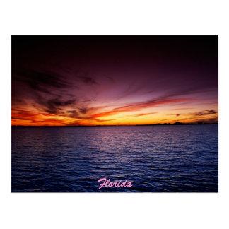 Fuego púrpura postales