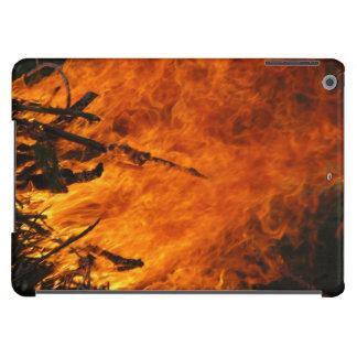 Fuego que rabia funda para iPad air