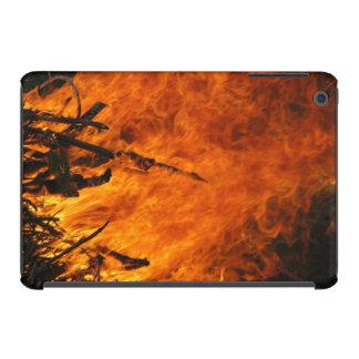 Fuego que rabia fundas de iPad mini retina