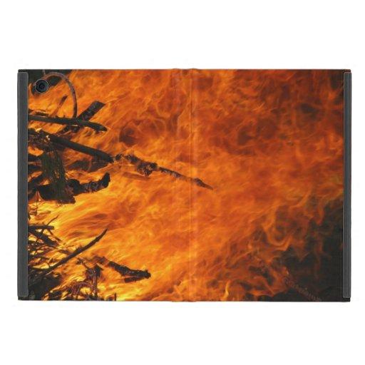 Fuego que rabia iPad mini coberturas