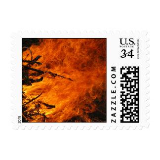 Fuego que rabia - pequeño sello