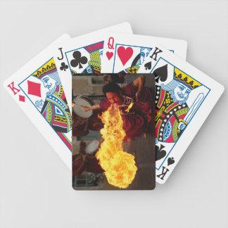 Fuego que respira baraja de cartas