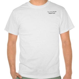 Fuego rápido camisetas