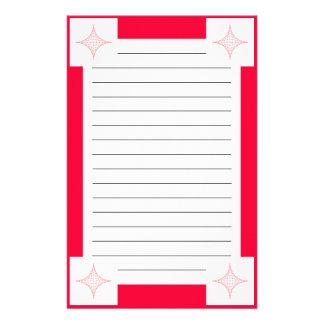 Fuego (rojo) papelería