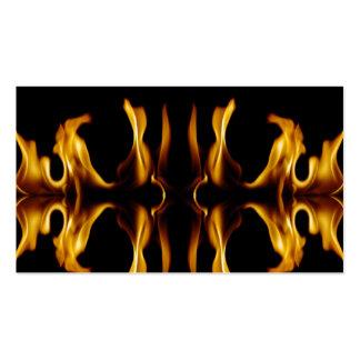 Fuego Tarjeta De Negocio