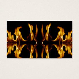 Fuego Tarjeta De Negocios