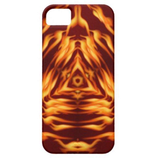 Fuego Trinary Funda Para iPhone 5 Barely There