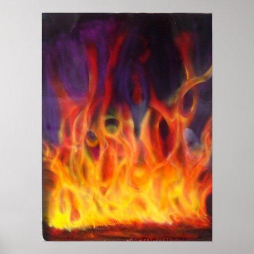 Fuego verdadero posters