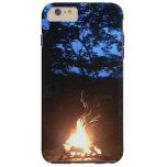 Fuego Wispy en la puesta del sol Funda De iPhone 6 Plus Tough