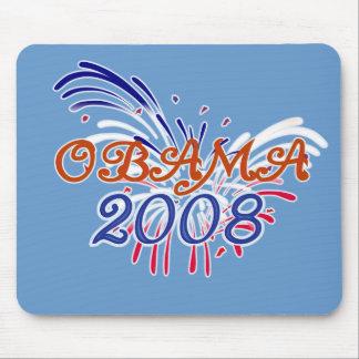 Fuego WorksMousepad de Obama Alfombrillas De Raton
