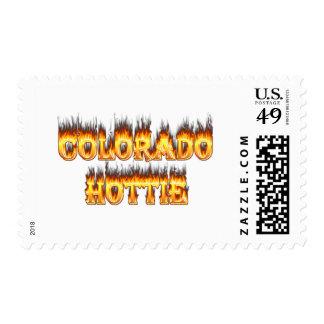 Fuego y falesm de Colorado Hottie Franqueo