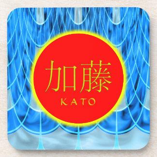 Fuego y hielo del monograma de Kato Posavasos