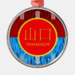 Fuego y hielo del monograma de Yamaguchi Ornamentos Para Reyes Magos