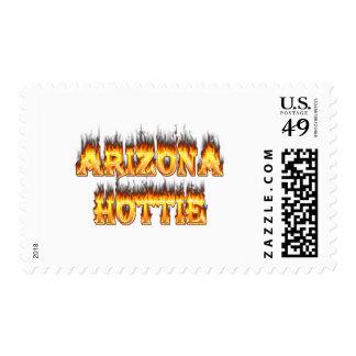 Fuego y llamas de Arizona Hottie Sellos