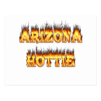Fuego y llamas de Arizona Hottie Postal