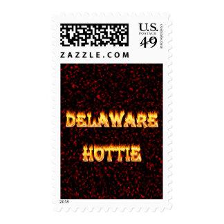 Fuego y llamas de Delaware Hottie Sello