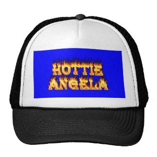 Fuego y llamas de Hottie Angela Gorras