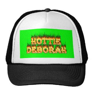 Fuego y llamas de Hottie Deborah Gorra