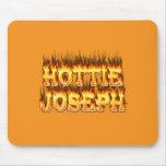 Fuego y llamas de Hottie José Tapete De Ratón