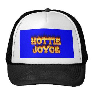 Fuego y llamas de Hottie Joyce Gorros Bordados