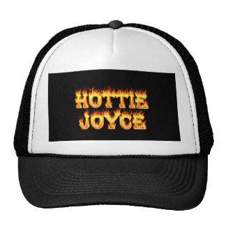 Fuego y llamas de Hottie Joyce Gorras De Camionero