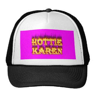 Fuego y llamas de Hottie Karen Gorros