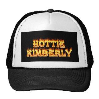 Fuego y llamas de Hottie Kimberley Gorra