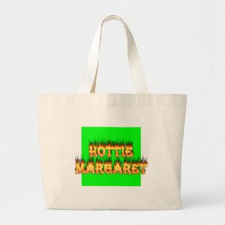 Fuego y llamas de Hottie Margaret Bolsa