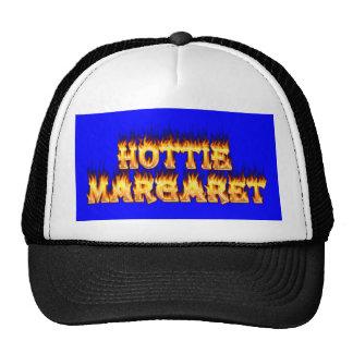 Fuego y llamas de Hottie Margaret Gorro De Camionero
