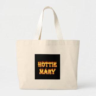 Fuego y llamas de Hottie Maria Bolsa De Mano
