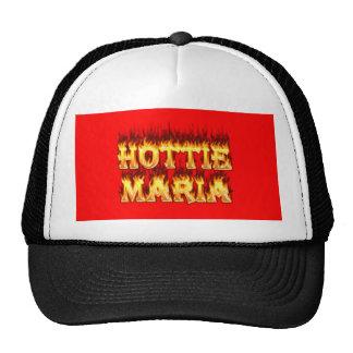 Fuego y llamas de Hottie Maria Gorra