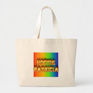 Fuego y llamas de Hottie Patricia Bolsa De Mano