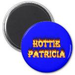 Fuego y llamas de Hottie Patricia Iman Para Frigorífico
