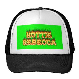 Fuego y llamas de Hottie Rebecca Gorros