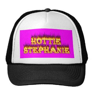Fuego y llamas de Hottie Stephanie Gorra