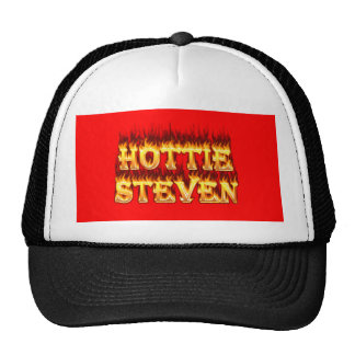 Fuego y llamas de Hottie Steven Gorros
