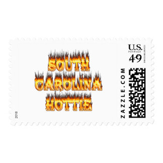 Fuego y llamas del hottie de Carolina del Sur Franqueo