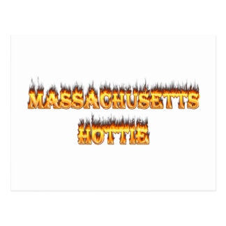 fuego y llamas del hottie de Massachusetts Postal